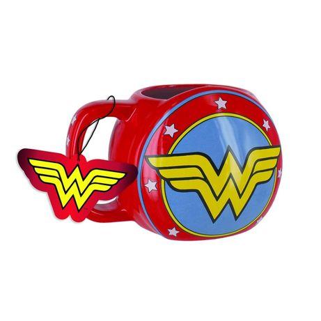 Caneca 3D Wonder Woman - DC Comics