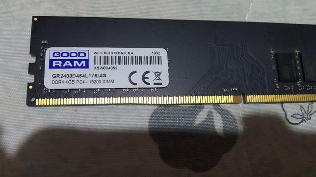 Оперативная память DDR4 4GB/2400 GOODRAM (GR2400D464L17S/4G)