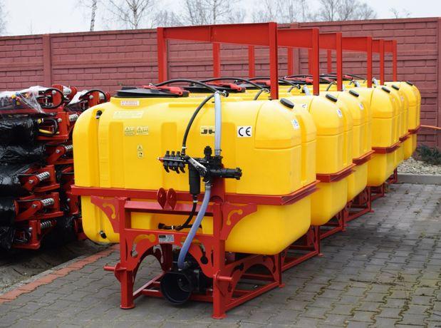 Opryskiwacz polowy zawieszany 600 litrów SOKÓŁ lanca 12 metrów DEMAROL