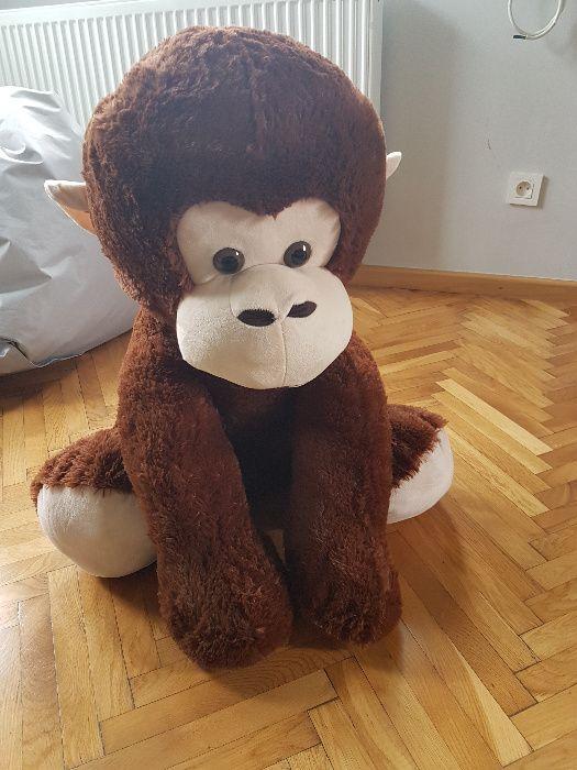 Wielka pluszowa małpa 80cm Tychy - image 1
