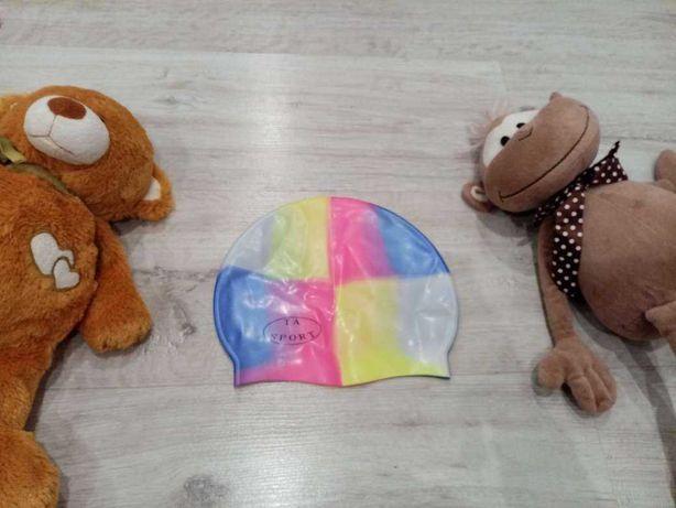 Силиконовая шапочка для бассейна на 4-7 лет