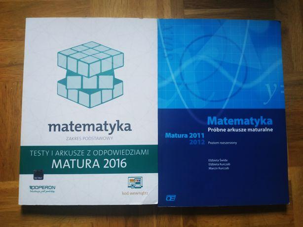 Testy i arkusze maturalne matematyka podstawa Operon