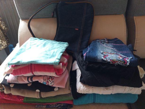 Mega paka ubran dla dziewczynki 134/140