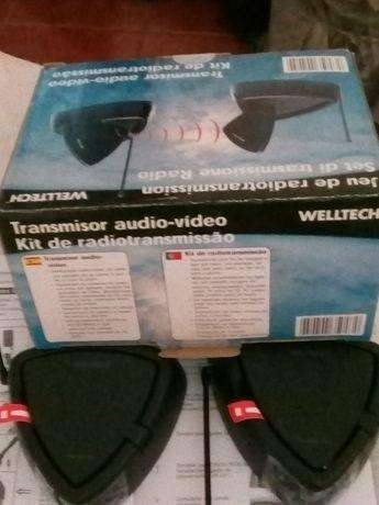 Kit Welltech Wireless Audio /Video+IR 2.4 Ghz