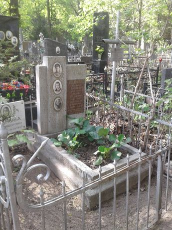 Уборка могилок на Байковом кладбище. Благоустройство могил, захоронени