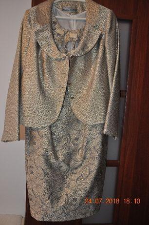 Sukienka z żakietem na podszewsce roz. 48