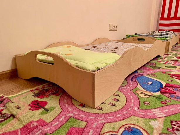 Детская кровать Монтессори, кроватка в детский сад от производителя