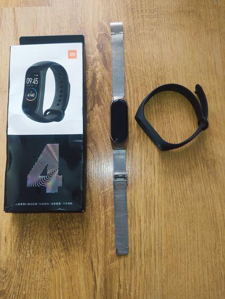 Zestaw smartband opaska Xiaomi Mi Band 4 + regulowana bransoletka