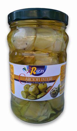 Włoskie Karczochy w Zalewie z Oleju Słonecznikowego - 1,7kg