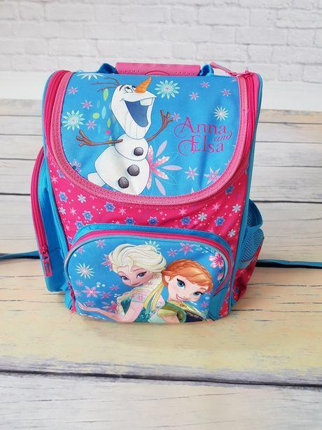 Plecak szkolny Kraina Lodu z Anna, Elsa i Olaf