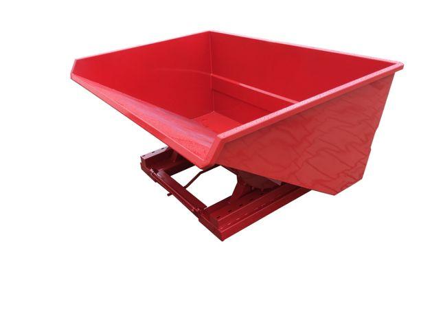 Niezawodny kontener na wszelkie odpady i produkty, koliba TK800 L