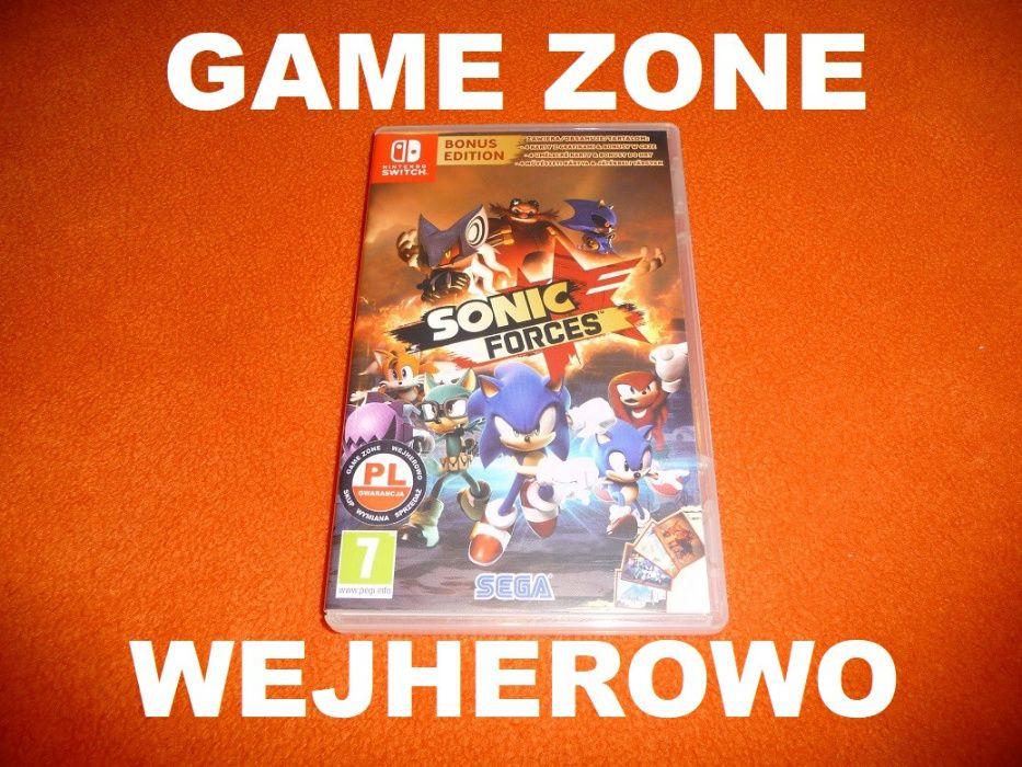 SONIC Forces PL Nintendo SWITCH = Wejherowo / Wymiana Wejherowo - image 1