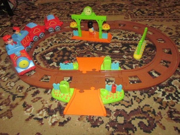 Железная дорога (поезд) от happyland elc mothercare от 2 до 4 лет