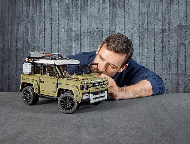 Pudelko + instrukcja Lego 42110 Land Rover