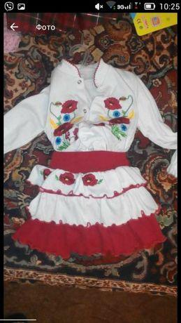 Наряд на девочку,нарядный народный костюм, вышиванка,украинский стиль