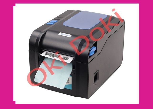 Принтер этикеток Новой Почты чеков Xprinter XP-370B 80мм Zebra торгсо