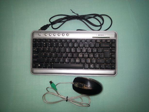 Klawiatura do komputera A4TECH + mysz optyczna A4TECH EVO Opto 013D.