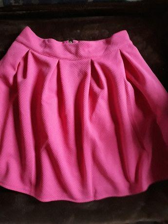 Wyprzedaż szafy. Sliczna spódnica różowa M