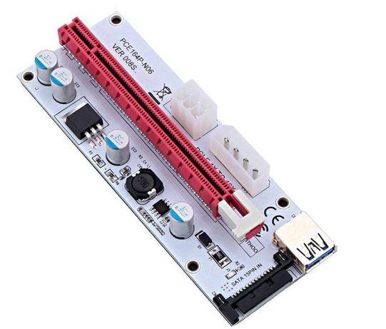Райзер V08 60см PCI-1