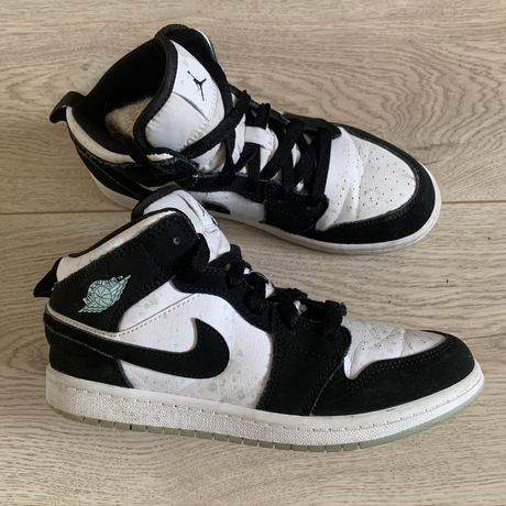 Nike air jordan 1 mid high low tint force