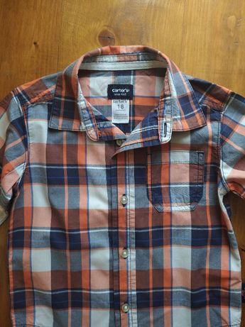 Сорочка на хлопчика 18м Carter's