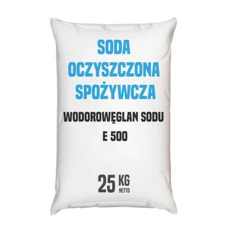 Soda oczyszczona spożywcza z antyzbrylaczem - 25 - 1000 kg - Kurier