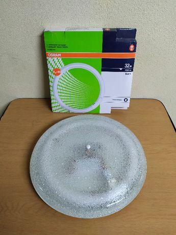 Candeeiro Plafonier Circular Fluorescente