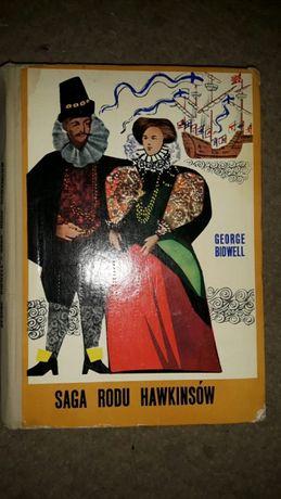 Saga rodu Hawkinsów oraz Henryk VIII Rubaszny król Hal Bidwell