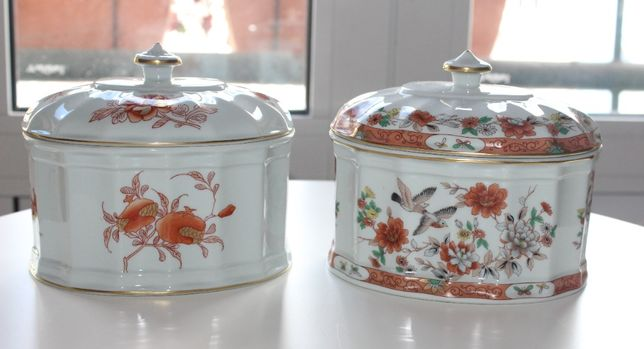 Caixas Diogo Iris e Magnolia - Cremeiras Samurai e Samatra Vista Alegr