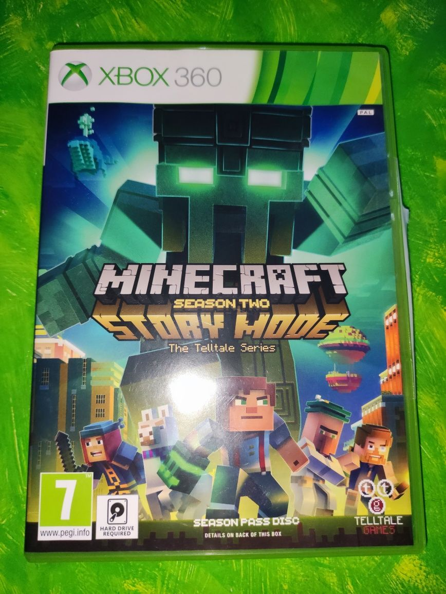 Xbox 360 -  Minecraft story mode season 2