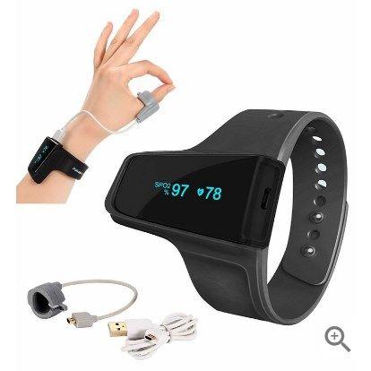 Pulsoksymetr do monitorowania snu VIATOM CHECKME O2