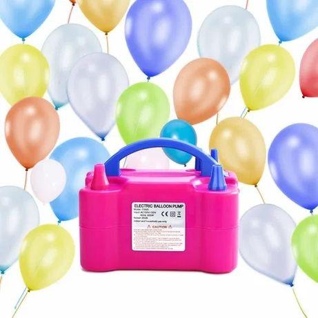 Электрический насос для надувания воздушных шаров!2 шарика одновремено