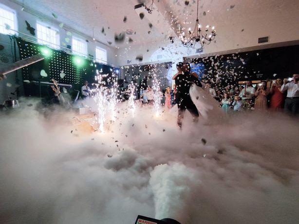 CIĘŻKI DYM - taniec w chmurach - Fontanny iskier.
