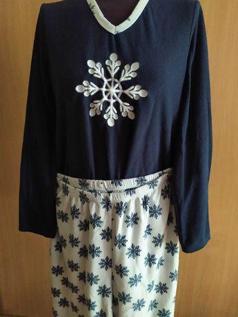 Флис.Женская теплая пижама,одежда для дома Matalan р.46-48 (160-170)