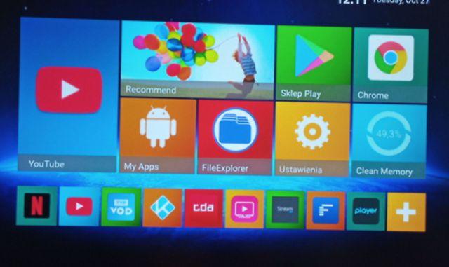 Smart TV BOX - Android 9, 2GB / 16GB - TR 99 Mini+