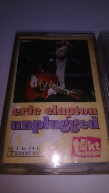 Eric Clapton - Unplugged, 24 nights. 2 kasety.