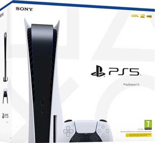 Playstation 5 Console, 825GB, Branco com Caixa