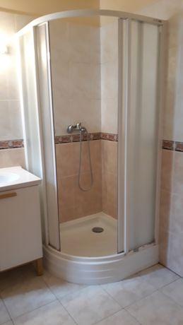 Kabina prysznicowa 90 Ravak z brodzikiem i syfonem