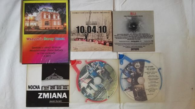 Filmy na płytach CD