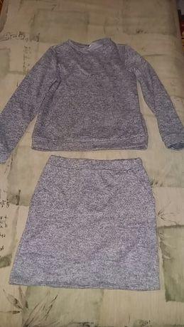Кофта, юбка, костюм для девочки,
