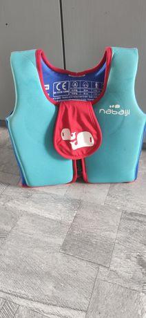 Kamizelka pływacka z pianki dla dzieci NABAIJI