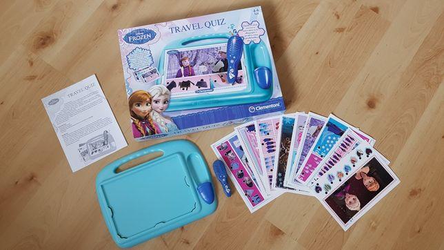Clementoni travel gra quiz Kraina lodu Frozen Elsa
