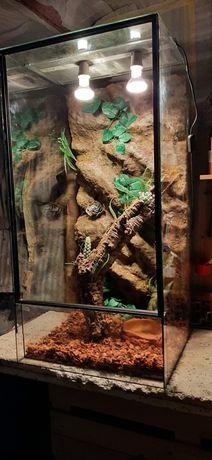 Terrarium 100x50x50  Kameleon Gekon Waz