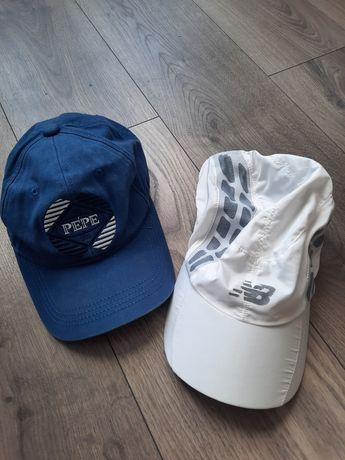 2 czapki z daszkiem Pepe Jeans New Balance