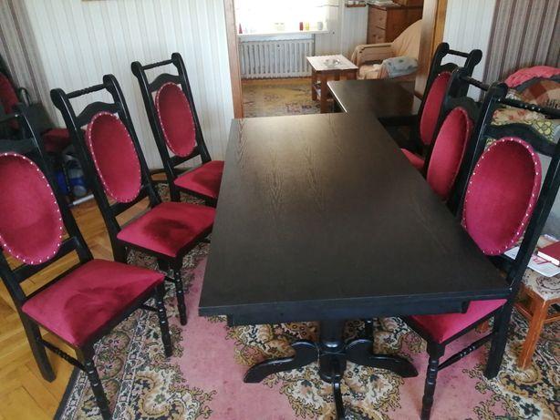 Zestaw stół z 10 krzesłami
