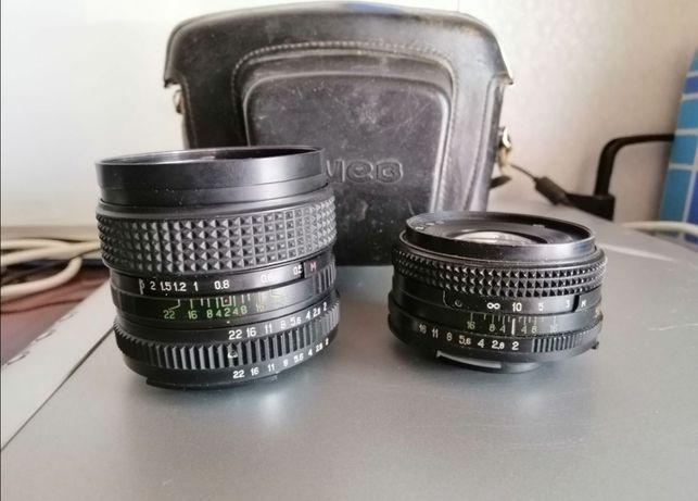 Объектив мс мир-24н и мс Гелиос-81н фотоаппарат киев-19