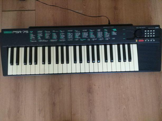 Organy Keyboard Yamaha PSR 75