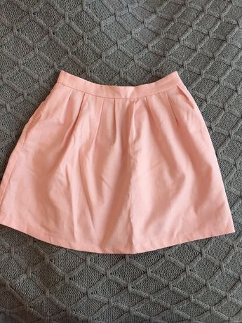 Różowa spódnica Stradivarius S