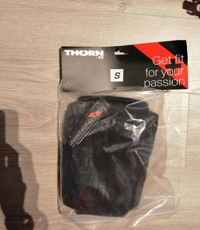 Ściągacze kolan 6mm (czarne) Thornfit Nowe S, paczkomat. Crossfit