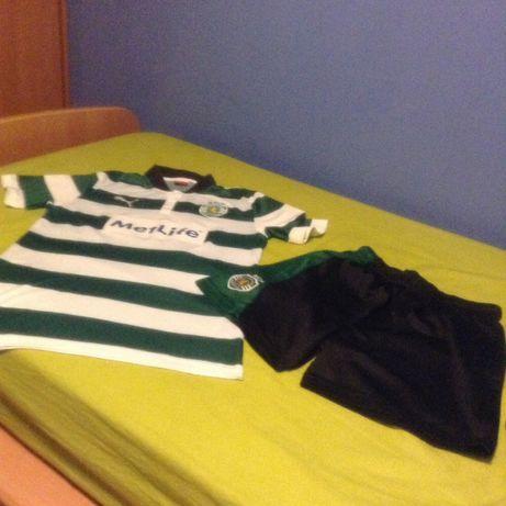 Equipamento Sporting escola/academia de talentos veste 14(16)